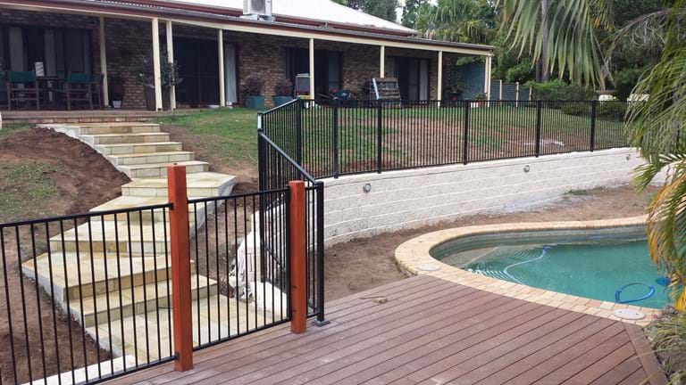 landscaping decking paving retaining walls